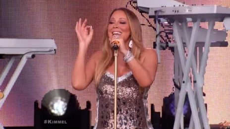 Watch: Mariah Carey Performs 'Vision of Love' & 'Infinity' On 'Kimmel'