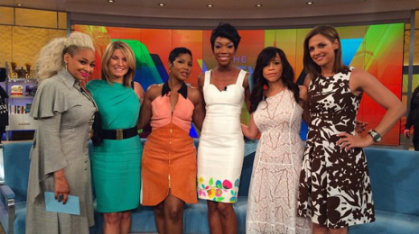 Did You Miss It?:  Brandy & Toni Braxton Visit 'The View'