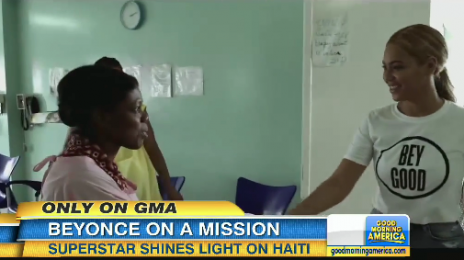 Watch: Beyonce Visits Children's Hospital In Haiti