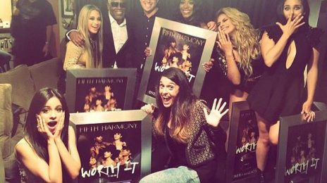 Fifth Harmony Presented With Platinum Plaque For 'Worth It' / Blaze 'Kimmel' With 'Boss'