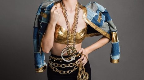 Katy Perry Becomes The Face Of Moschino