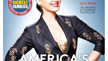 Katy Perry, Beyonce & Lady Gaga Make Forbes' Celebrity 100 List