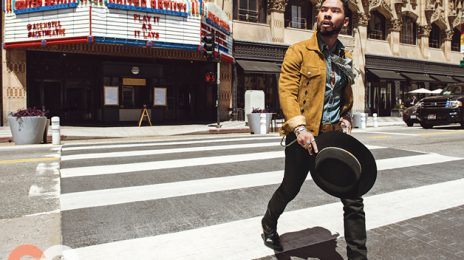 Miguel Sports Rock Star Style For GQ