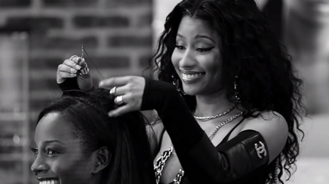 First Look: Nicki Minaj & Eve Star In 'Barbershop 3'