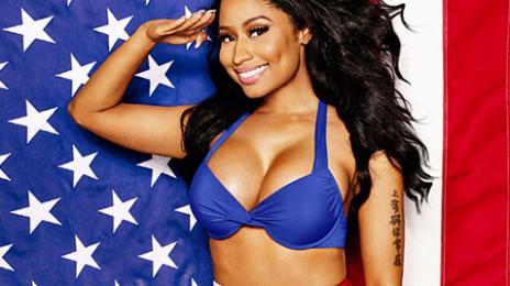 Behind The Scenes: Nicki Minaj Heats Up For 'Cosmopolitan'