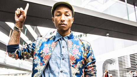 Pharrell Williams Teases New Song In 'Apple' Ad