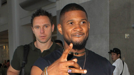 Hot Shots: Usher Steps Out In Los Angeles
