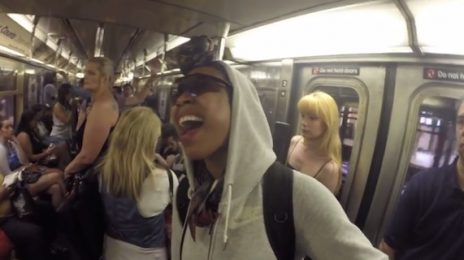 Hilarious: Brandy Sings Undercover On New York Subway