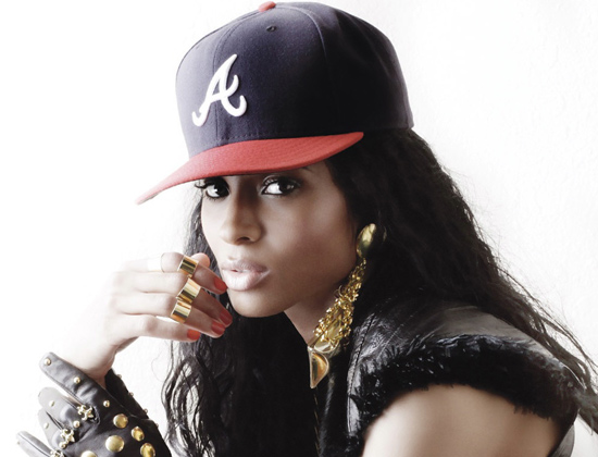 ciara-atlanta-braves-fitted-baseball-cap