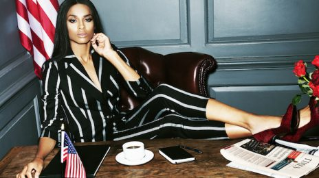 Ciara Gets Presidential In New Noisey Photoshoot