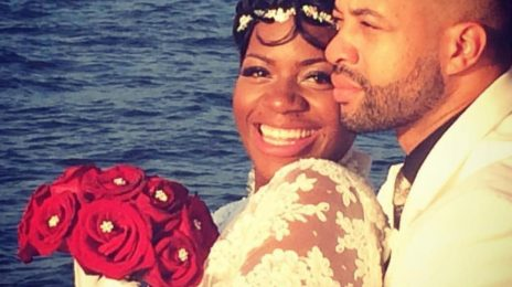 Hot Shot: Fantasia Gets Married