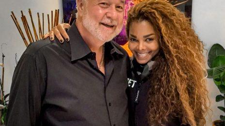 Tour Prep: Janet Jackson Poses With Vocal Coach