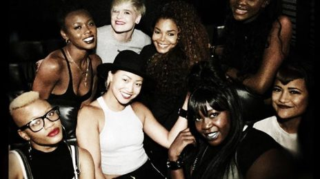 Hot Shot: Janet Jackson Jams At J.Cole Concert