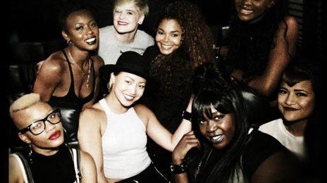 Hot Shot: Janet Jackson Jams At J.Cole Concert