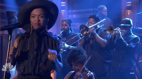 Watch: Lauryn Hill Electrifies 'Fallon' With 'Feeling Good' [Performance]