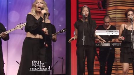 Leona Lewis Belts 'Thunder' On 'Kelly & Michael' / Previews Music Video