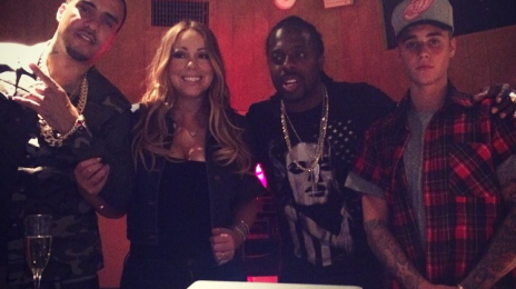 Mariah Carey Hits The Studio With Justin Bieber & French Montana / New Album Due Soon?