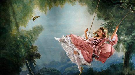 Mariah Carey Channels Marie Antoinette In Harper's Bazaar Icons Issue