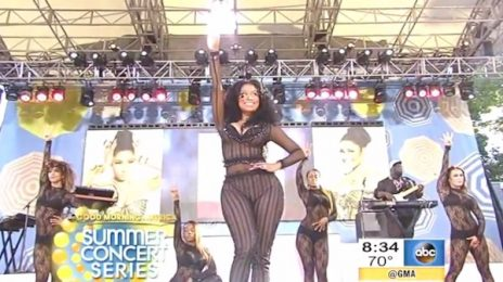 Watch: Nicki Minaj Rocks 'Good Morning America Summer Concert Series'