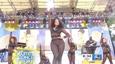 Watch: Nicki Minaj Rocks 'Good Morning America Summer Concert Series'