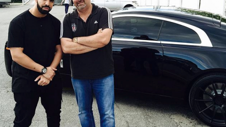 Hot Shot: Drake Picks Up A New Rolls Royce Wraith