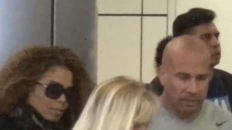 Spotted: Janet Jackson Arrives Back In LA After Nursing Father In Brazil