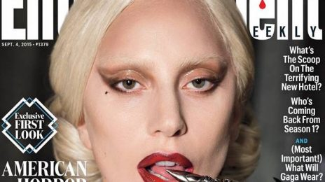 Lady Gaga Covers 'Entertainment Weekly' As 'American Horror Story' Character