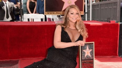 Mariah Carey Receives Star On 'Hollywood Walk of Fame'