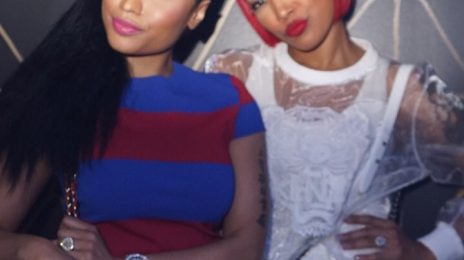 Nicki Minaj & Monica Jam At 'Pinkprint Tour' Afterparty