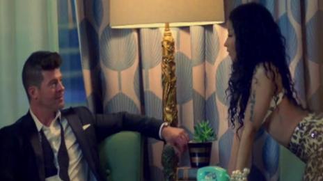 New Video: Robin Thicke And Nicki Minaj - 'Back Together'