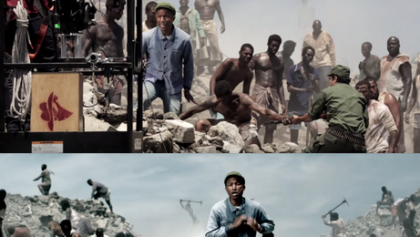 Behind The Scenes : Pharrell Williams - 'Freedom'