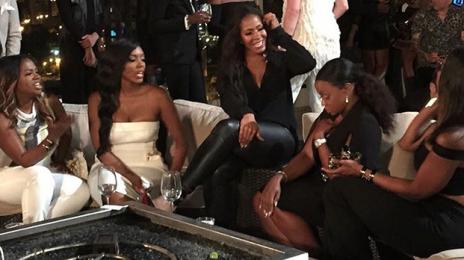 Report: Kenya Moore & Sheree Whitfield Fight At 'Real Housewives of Atlanta' Season Eight Taping