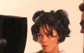 Rihanna Shoots New Music Video?