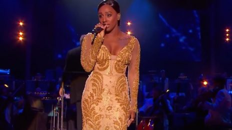 Watch: Alexandra Burke Wows With 'I Will Always Love You' At BBC Proms In The Park