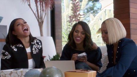 Hilarious: Mary J. Blige, Taraji P. Henson, & Kerry Washington Star In Apple Music Commercial