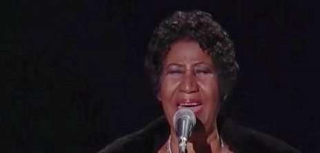 Did You Miss It?! Aretha Franklin Performs 'Amazing Grace' For The Pope