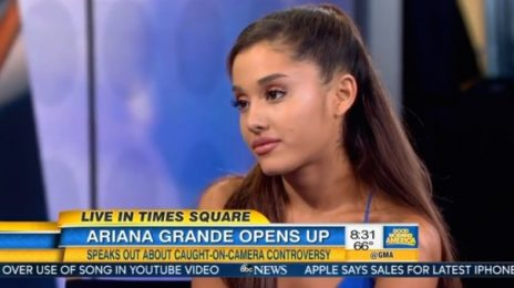 Ariana Grande Visits GMA / Dishes On Donut-Licking Drama & New Single