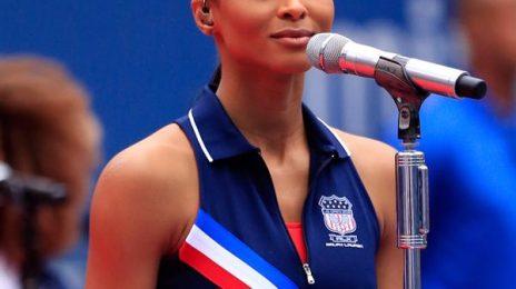 Watch: Ciara Belts 'God Bless America' At US Open Final