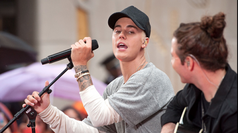 Watch: Justin Bieber Performs Live On 'Today'