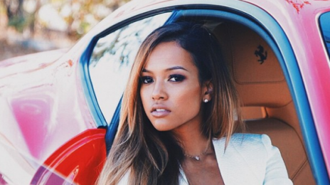 Karrueche Tran Confronted By Anti-Racism Protesters In London