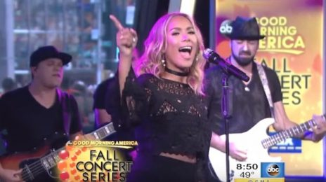 Watch: Leona Lewis Strikes GMA With 'Thunder' Performance