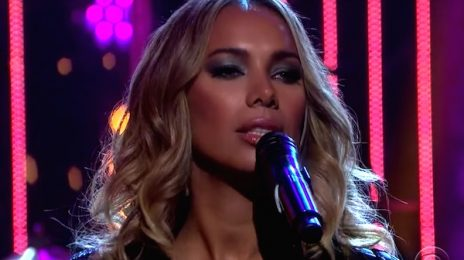 Leona Lewis Lights Up 'Corden' Despite Dismal Album Sales / Addresses Numbers