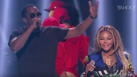 Watch: Lil Kim & Puff Daddy Perform 'All About The Benjamins' At 'iHeartRadio Music Festival'