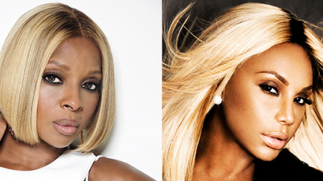 Tamar Braxton To Support Mary J. Blige On New Tour