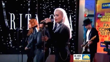 Watch: Rita Ora Rocks GMA With 'Body On Me' [Performance]