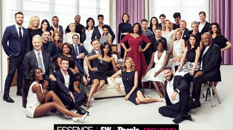 Hot Shots:  Casts of 'Scandal' & 'How To Get Away With Murder' Join Forces For Epic Shoot #TGIT