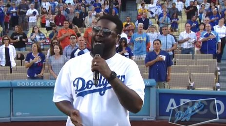 Watch: T-Pain Performs US National Anthem - Without Autotune