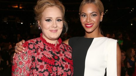"Adele & Beyonce Trade Compliments: ""She's My Michael Jackson"""