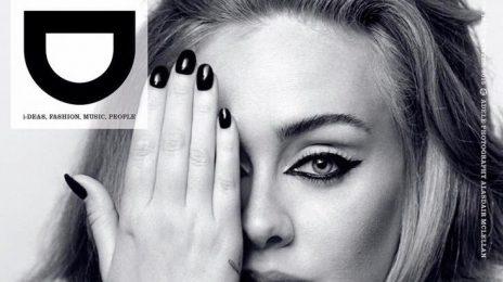 Adele Covers 'i-D' Magazine