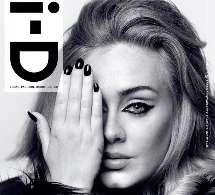 Adele Covers 'i-D' Mag... Mariah Carey Illuminati Album Covers
